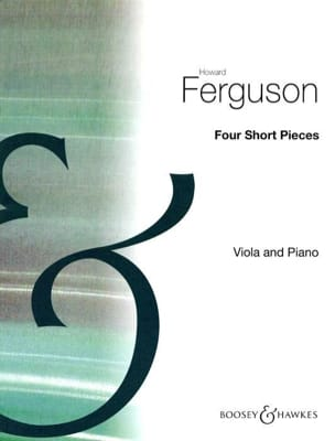 Howard Ferguson - 4 Short Pieces - Alto et Piano - Partition - di-arezzo.fr