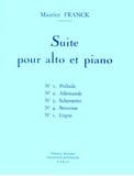 Maurice Franck - Suite for viola and piano - Sheet Music - di-arezzo.co.uk