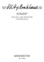 Concerto pour Alto - Willy Burkhard - Partition - laflutedepan.com