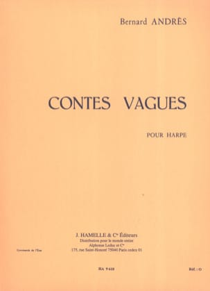 Bernard Andrès - Tales Waves - Sheet Music - di-arezzo.com