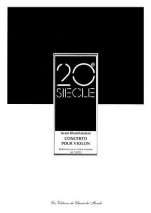 Aram Khatchaturian - Violin Concerto - Sheet Music - di-arezzo.com