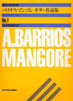 Mangore Agustin Barrios - Album For Guitar N°1 - Partition - di-arezzo.fr