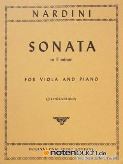 Pietro Nardini - Sonata in F minor - Partition - di-arezzo.fr