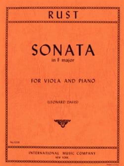 Sonata in F major - Friedrich Wilhelm Rust - laflutedepan.com