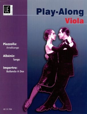 Piazzolla Astor / Albeniz Isaac / Impertro Herman - Play Along viola - Partition - di-arezzo.fr