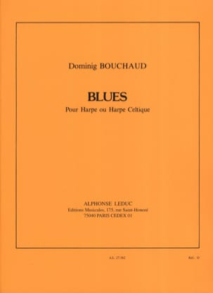Dominig Bouchaud - blues - Partitura - di-arezzo.es