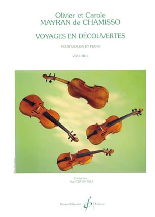 de Chamisso Olivier et Carole Mayran - Discovery trips, Volume 1 - Sheet Music - di-arezzo.co.uk