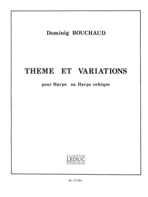 Dominig Bouchaud - Theme et Variations - Partition - di-arezzo.fr