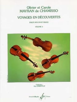 de Chamisso Olivier et Carole Mayran - Discovery trips, Volume 3 - Sheet Music - di-arezzo.co.uk