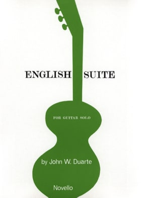 John W. Duarte - English Suite - Guitar solo - Partition - di-arezzo.fr