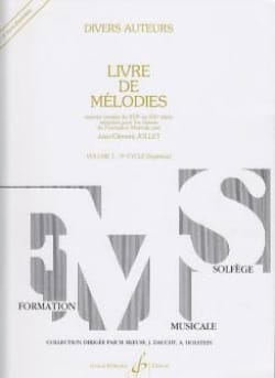 Jean-Clément Jollet - Book of Melodies Volume 7 - Superior - Sheet Music - di-arezzo.com
