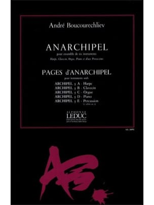 André Boucourechliev - Anarchipel - Partition - di-arezzo.fr