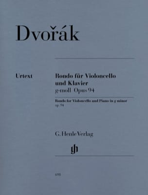 DVORAK - Rondo in G minor op. 94 for cello and piano - Sheet Music - di-arezzo.com