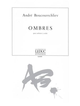 André Boucourechliev - Ombres - Partition - di-arezzo.fr