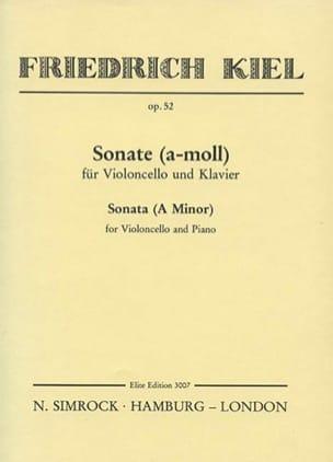 Sonate a-moll op. 52 - Friedrich Kiel - Partition - laflutedepan.com