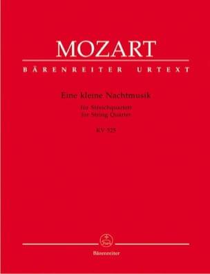 MOZART - Eine kleine Nachtmusik KV 525 - Stimmen - Sheet Music - di-arezzo.co.uk
