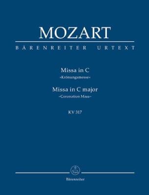 Wolfgang Amadeus Mozart - Messe Du Couronnement, Kv 317 - Partition - di-arezzo.fr