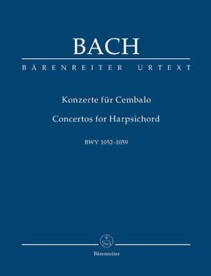 Johann Sebastian Bach - Concertos Pour Piano (Clavecin) - Partition - di-arezzo.fr