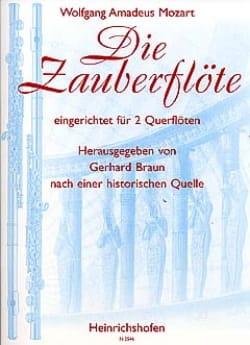 Die Zauberflöte - 2 Flöten - MOZART - Partition - laflutedepan.com