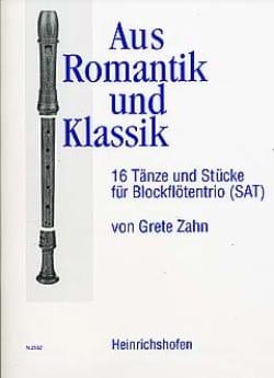 Aus Romantik und Klassik – Blockflötentrio - laflutedepan.com