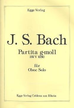Partita En Sol Mineur - BWV 1030 BACH Partition laflutedepan