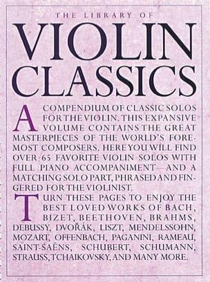 The Library of Violon Classics Library Partition Violon - laflutedepan