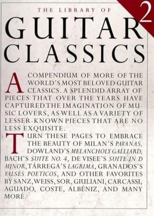 Library Of Guitar Classics - Volume 2 - laflutedepan.com