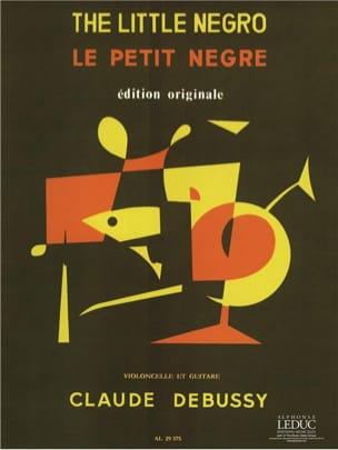 DEBUSSY - Le Petit Nègre - Partition - di-arezzo.fr