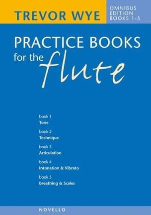 Trevor Wye - Practice Books For The Flute Volume 1-5 Complete Book Omnibus - Sheet Music - di-arezzo.co.uk