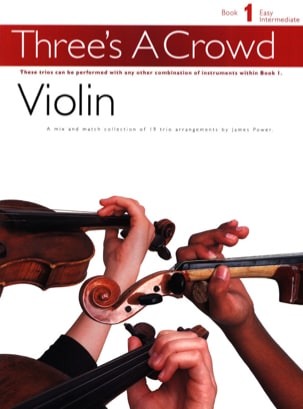 Three's a Crowd, Book 1 - Violon Trio - Partition - di-arezzo.fr