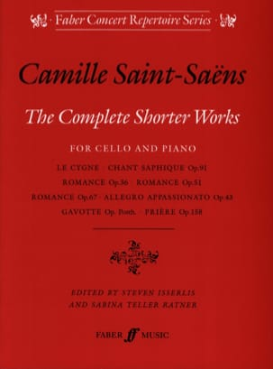 The Complete Shorter Works SAINT-SAËNS Partition laflutedepan