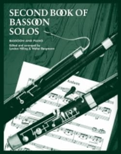Hilling Lyndon / Bergmann Walter - Second Book Of Bassoon Solos - Partition - di-arezzo.fr