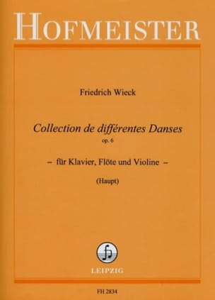 Friedrich Wieck - Collection of different dances op. 6 - Sheet Music - di-arezzo.com