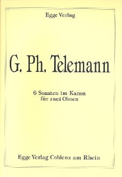 6 Sonaten im Kanon –2 Oboen - laflutedepan.com