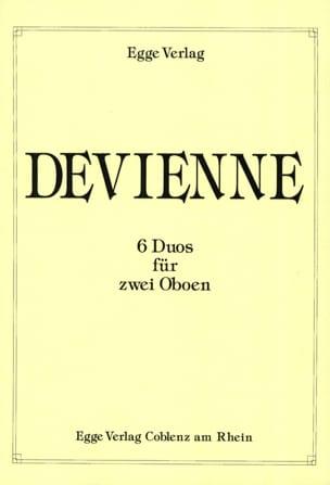 6 Duos für 2 Oboen DEVIENNE Partition Hautbois - laflutedepan