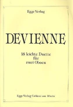 François Devienne - 18 Leichte Duette - 2 Oboen - Sheet Music - di-arezzo.com