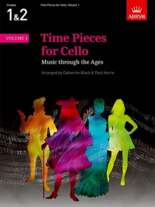 Time Pieces for Cello, Volume 1 Partition Violoncelle - laflutedepan