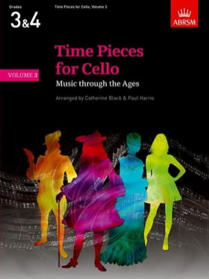 Black Catherine / Harris Paul - Time Pieces For Cello Volume 3 - Partition - di-arezzo.fr