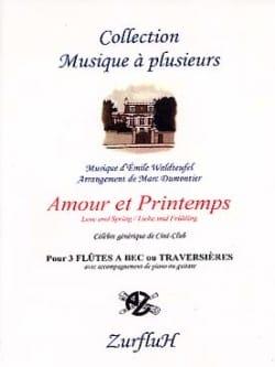 Emile Waldteufel - Loves and Spring - 3 Recorders trav. piano - Sheet Music - di-arezzo.com
