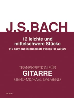 BACH - 12 Easy Rooms and Medium Dificulty - Sheet Music - di-arezzo.co.uk