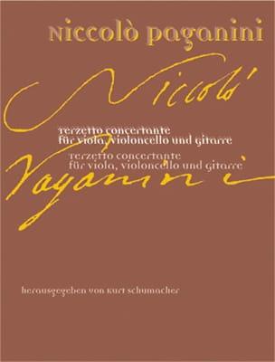 Niccolò Paganini - Terzetto concertante –Partitur + Stimmen - Partition - di-arezzo.fr