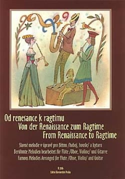 - From Renaissance to Ragtime – Flute (oboe, violin) guitar - Partition - di-arezzo.fr