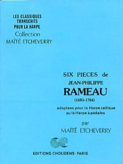 Rameau Jean-Philippe - 6 Pièces - Partition - di-arezzo.fr