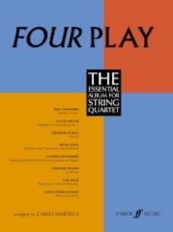 Carlo Martelli - Four Play - String quartet - Partition - di-arezzo.fr