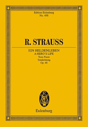 Richard Strauss - Ein Heldenleben Op.40 - Sheet Music - di-arezzo.co.uk