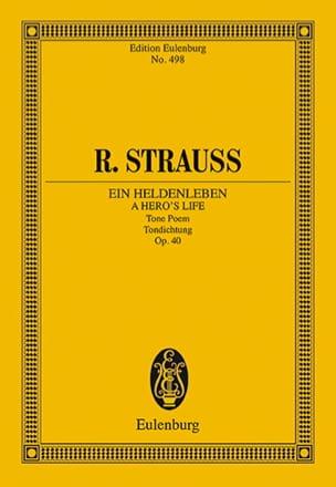 Richard Strauss - Ein Heldenleben Op.40 - Partition - di-arezzo.fr