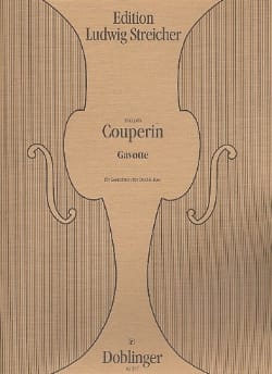 François Couperin - Gavotte - Contrebasse - Partition - di-arezzo.fr