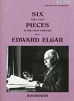 Edward Elgar - 6 Very easy pieces op. 22 - Violin - Partition - di-arezzo.fr