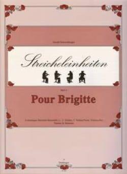 Gerald Schwertberger - Pour Brigitte – String quartet - Partition - di-arezzo.fr