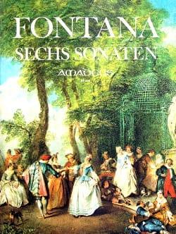 Giovanni Battista Fontana - 6 Sonates - Partition - di-arezzo.fr